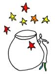 stars-and-vase
